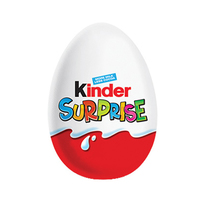 Kinder Surprise Sweet Egg Covered With Fine Milk Chocolate 19 Gram