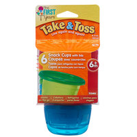 The First Years Sava 4.5oz Snack Cups 6 pack