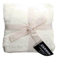 Cannon Face Towel 4pc set Cream 33X33cm