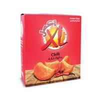 اكسل بطاطس شيبس 25 جرام × 14