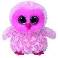 """Ty Beanie Boos Owl Twiggy Pink 6"""""""