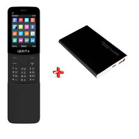 iBrit B8 Dual Sim Black + iBrit Power Bank 6000