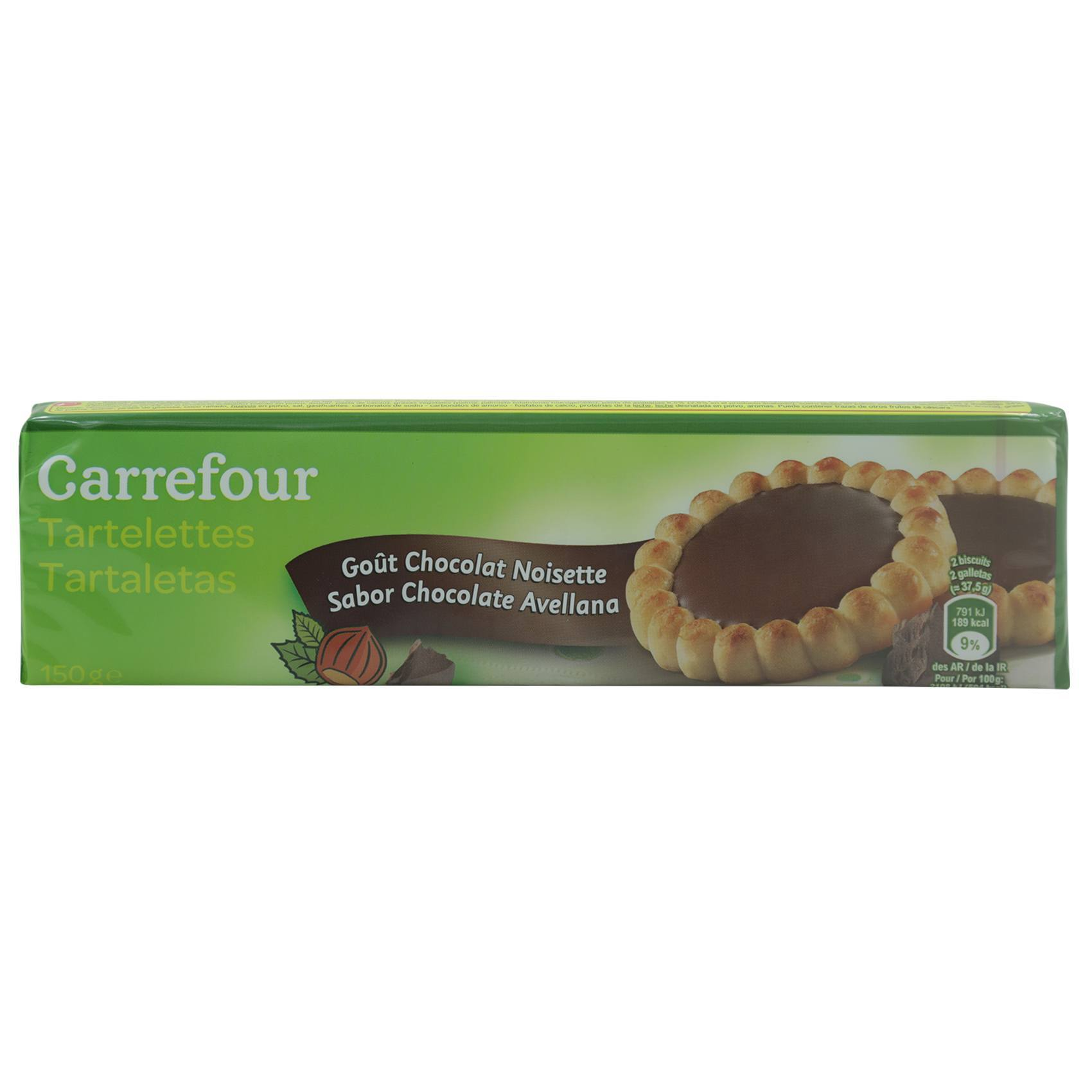 CRF TARTS CHOCOLATE NUT 150G