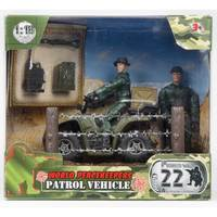 M&C World Peace Keepers – Patrol Vehicle ( 2 Figures Included) - 2 Assorted