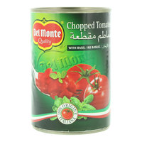 Del Monte Chopped Tomatoes with Basil 400g