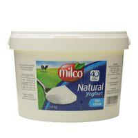 Milco Natural Yoghurt Full Cream 3.8Kg