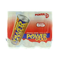 Pokka Power Gold Energy Drink 240mlx6