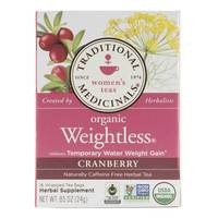 Traditional Medicinals Organic Weightless Cranberry Tea 24g