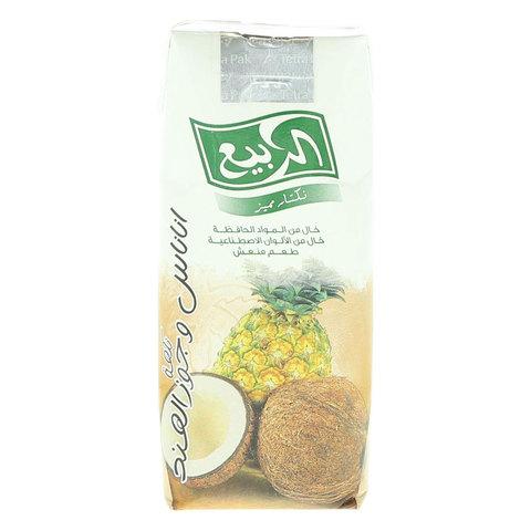Al-Rabie-Pineapple-And-Coconut-Premium-Drink-330ml