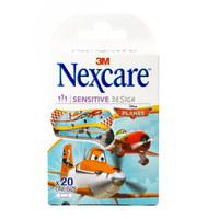 Nexcare Sensitive Design Planes One Size 20 Bandages
