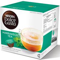 Nescafe Dolce Gusto Marrakech Tea Coffee Capsules (16 Capsules, 16 Cups)