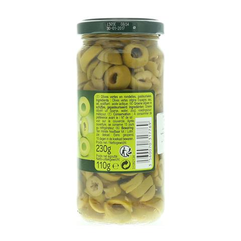 Carrefour-Sliced-Green-Olives-230g