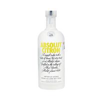 Absolut Vodka Citron 40%V Alcohol 75CL