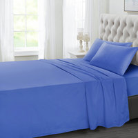 Tendance's Fitted Sheet Double Sky Blue 137X193