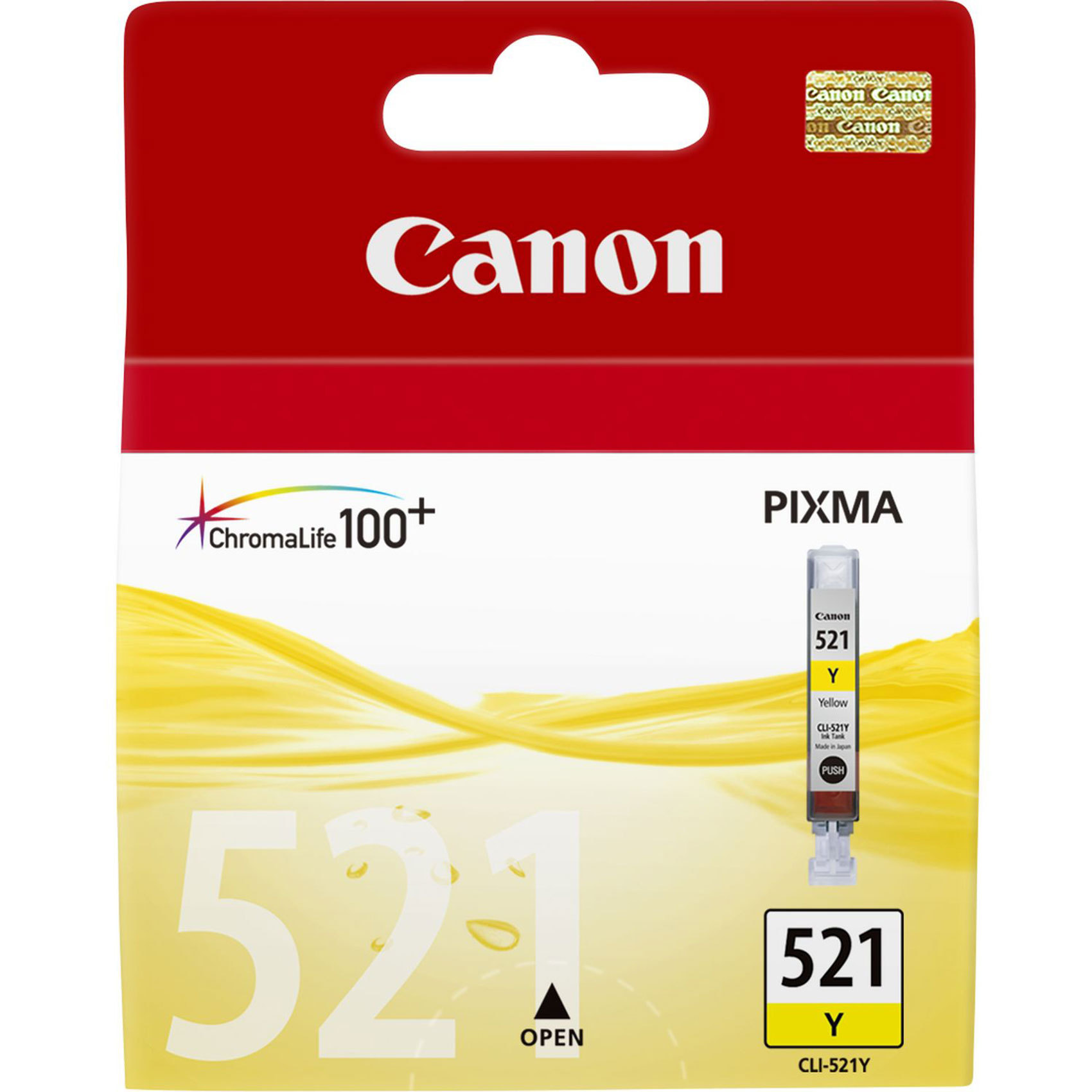 CANON CART CLI-521 YELLOW