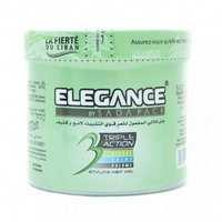 Elegance Gel Hair Styling Green 500 Ml
