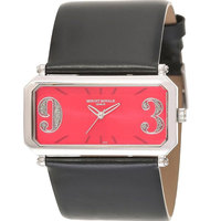 Mount Royale Women's Watch Red Dial Leather Band Watch-8Q14 LB