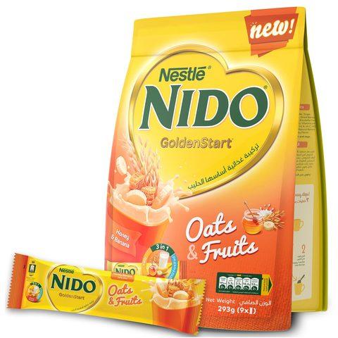 Nestle-Nido-GoldenStart-Oats-&-Fruits-Breakfast-Honey-Banana-293g