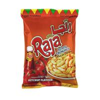 Raja Potato Crunchies Ketchup Flavor 70g