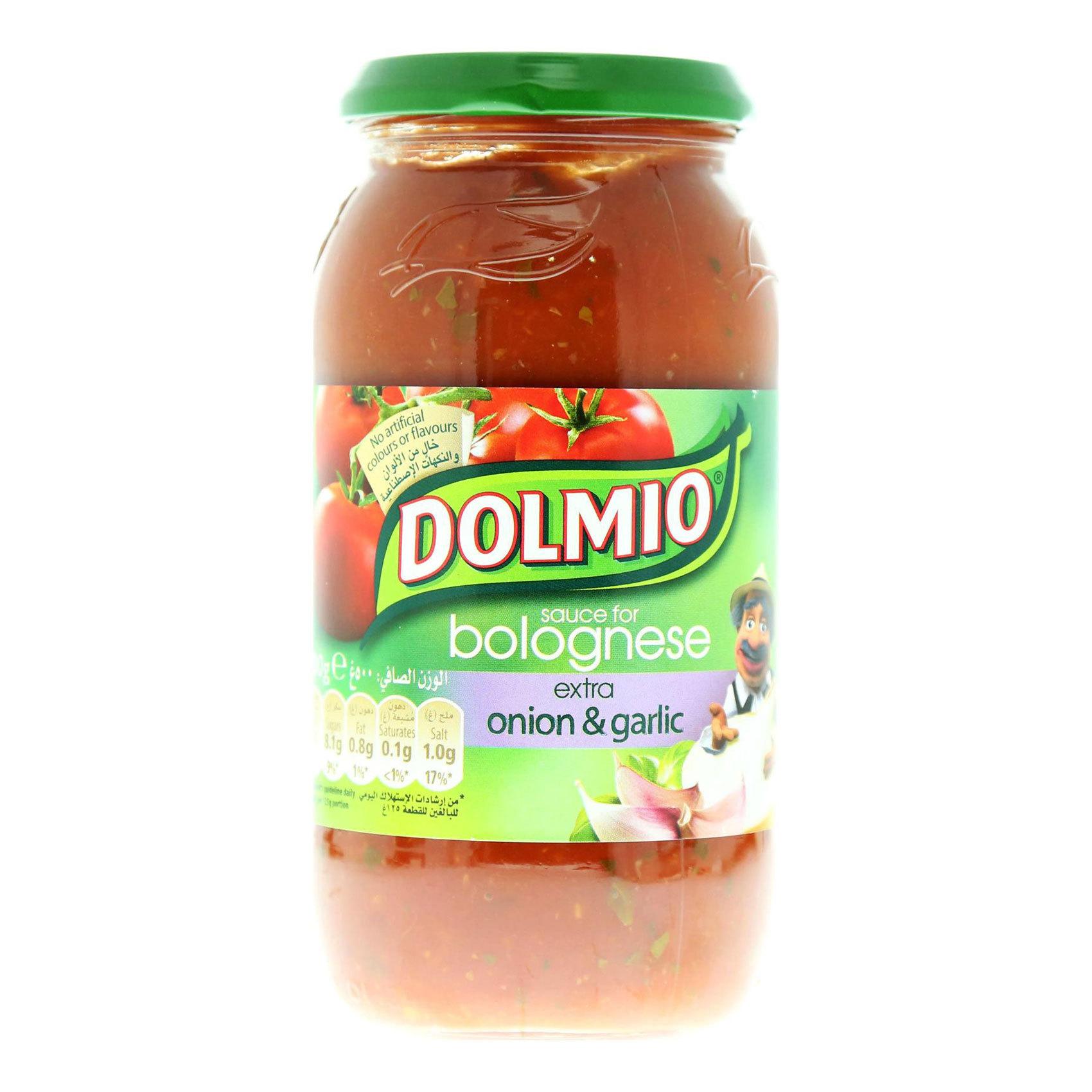 DOLMIO GARLIC SAUCE 500 GR