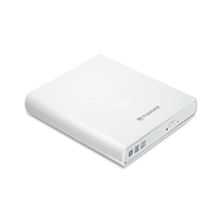 Transcend External CD/DVD Writer TS8XDVDS-K White
