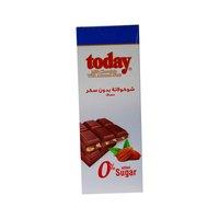 تودي شوكولاتة بالحليب مع اللوز خالي من السكر 65 غرام