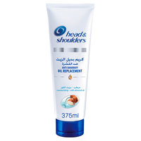 Head & Shoulders Moisturizing Anti-Dandruff Oil Replacement With Almond Oil 375 ml