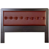 King Koil Headboard York6 Black-Cherry- Red 160cm + Free Installation