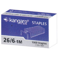 Kangaro No.26/6 Staple Pins