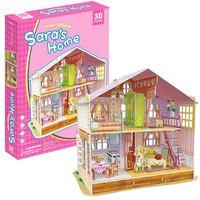 Cubic Fun Sara'S Home 3D Puzzle