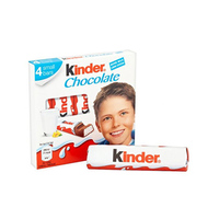 Kinder Chocolate 4 Bars 50GR
