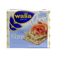 واسا شرائح خبز مقرمش بالألياف 230 غرام