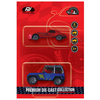 Power Joy Premium Die Cast 2In1 1:64 Assorted
