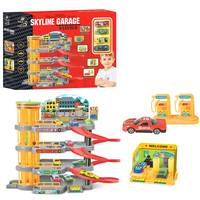 Power Joy Vroom Multi Level Skyline Garage