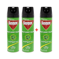 Baygon Multi Insect Killer 300ML 2 + 1 Free