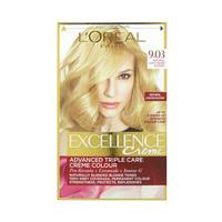 L'Oreal Paris Excellence Legends Hair Coloring Natural Light Warm Blonde 9.03 48ML