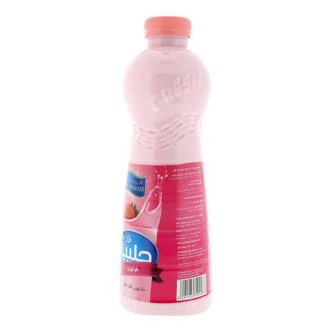 Al-Rawabi-Strawberry-Fresh-Milk-1L