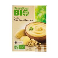 Carrefour Bio Organic Chickpeas Puree 250g