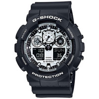 Casio G-Shock Men's Analog/Digital Watch GA-100BW-1A