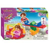 Banbao Seesaw & Turntable 65Pcs