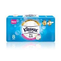 Kleenex Toilet Paper Dry Soft 8 Rolls