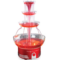 Nostalgia Vintage Collection Lighted Party Fountain, 30W, Red, DBF15RR