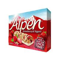 Alpen Cereal Bar Strawberry And Yogurt 145 Gram