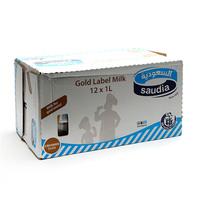 Saudia Milk Gold Label 1 L x 12 Pieces