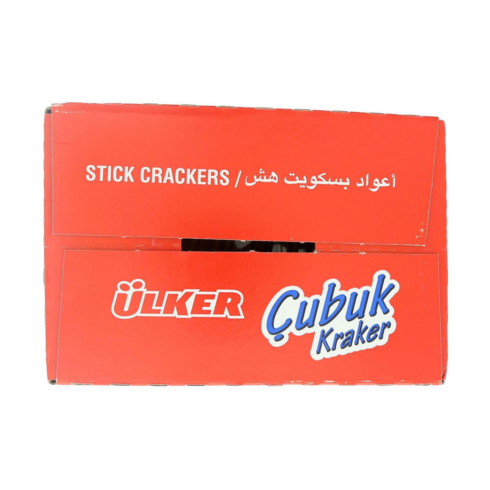 ULKER CUBUK STICK CRAKERS 30GRX24