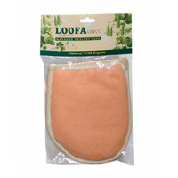 Stephany Loofa Gefco  Glove Bath Leaf