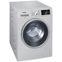 Siemens 8KG Front Load Washer and 5KG Dryer WD15G46SGC Silver