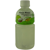Mogu Mogu Coconut Flavored Drink With Nata De Coco 320ml