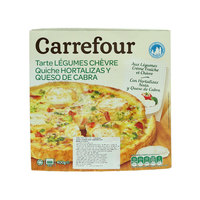Carrefour Quiche Goat Cheese & Vegetable 400g