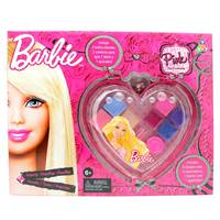 Barbie Big Heart Cosmetic Case